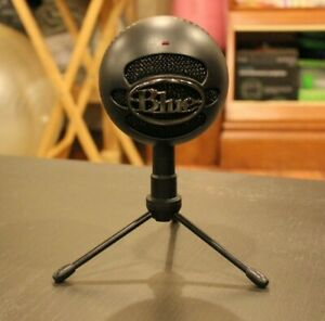 Blue Snowball ICE Plug & Play USB Professional Studio Microphone   Black