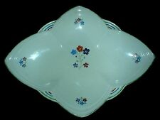 EMPIRE WARE ENGLAND Star Shape 10 inch dish hand painted flower detail 740 c1940