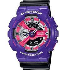 Casio G-Shock GA110NC-6A Purple Black Digital Analog Men's Watch GA-110NC-6A