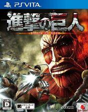 Attack on Titan PS Vita Koei Tecmo Sony PlayStation Vita From Japan