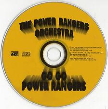 "THE POWER RANGERS ORCHESTRA ""GO GO POWER RANGERS"" RARE SPANISH PROMO CD SINGLE"