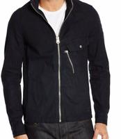 G-Star Raw Black Shirt Rinsed UK Large Zipped Pocket Mens *Ref56