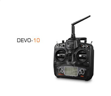 Walkera Devo 10 Transmitter(Black) + RX1002 Receiver