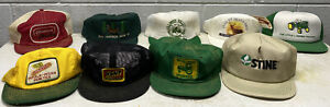 Vintage Miscellaneous Hats John Deere Dekalb Kent Stine Agriculture Seed Gas Oil