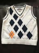 boys Kitestrings 3T Argyle sweater vest great condition
