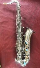 Professional C Melody Saxophone nickel body Free Neck+case