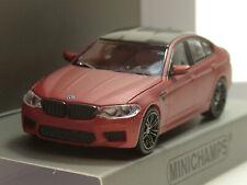 Minichamps BMW M5, 2018, matt rot metallic - 870 028004 - 1:87