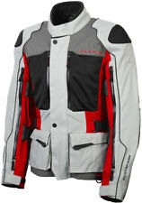 Scorpion Men's YOSEMITE XDR Textile All-Weather Touring Jacket (Red/Grey) Small