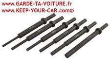LASER 6097 Jeu d'aiguilles pour marteau pneumatique extra longues (6pc)