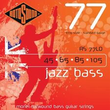 ROTOSOUND rs77ld JAZZ BASS piatto ferita quattro Stringa Set 45 - 105
