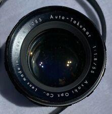 Auto Takumar Lens for Pentax by Asahi 1:1.8/55mm Screw Mount Lens, Japan #431085