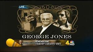 George Jones' Funeral / Memorial Service Complete DVD
