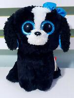 TySilk Tracey Plush Toy Dog w/ Swing Tag TY Beanie Boos 20cm Tall!