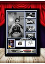 More details for (#307) johnny cash signed  a4 photo//framed (reprint) great gift @@@@@@@@@@