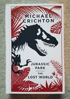 BRAND NEW Jurassic Park Lost World Michael Crichton Leather Bound RARE ~ OOP