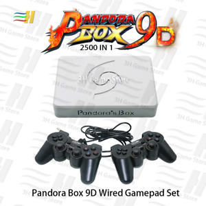 Arcade games Pandora box 9D 2500 in1motherboard wired and wireless game handle