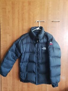 The North Face Summit Series 900 Fill Down Jacket Men's Large Black Gore Dry