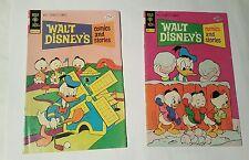 Walt Disney's comics And Stories # 412,413