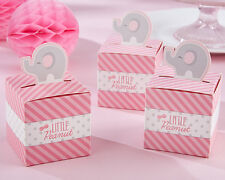 24 Little Peanut Pink Elephant Baby Shower Birthday Party Favor Boxes
