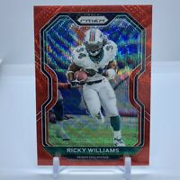 2020 Panini Prizm RICKY WILLIAMS Red Wave Prizm #'d /149 Miami Dolphins 🔥RARE🔥