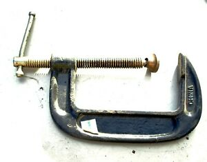 """C Clamps, various sizes from 1"""" to 4 Inches including Jorgensen & MIT"""