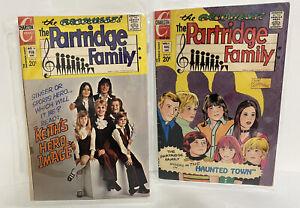 🌟 Rare Vintage Original Partridge Family #11 & #16 1973 Charlton Comic Book Lot