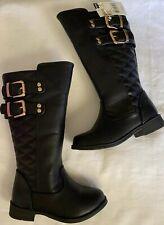 Girls Piper 11342 Racquel Black Boots 439i
