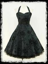 Normalgröße knielange Damenkleider im 50er-Jahre-Stil