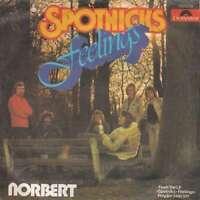 """The Spotnicks Feelings 7"""" Single Vinyl Schallplatte 19209"""