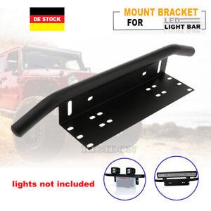 LED Lichtbalken Arbeitsscheinwerfer Kennzeichenhalterung 12V Lightbar Auto PK52