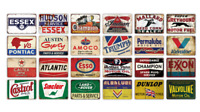 NEW Vintage Motor Oil metal plaque - Retro tin sign for Gas Station, Garage, Bar