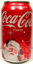 FULL NEW 12 Ounce Can American Coke Coca-Cola Holiday Limited Edition 2008 USA