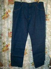 Rustler Jeans Dark Wash New Size 40 32 Cotton NOS