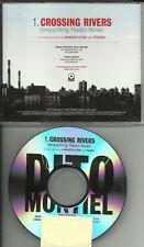 Gutterboy DITO MONTIEL Crossing Rivers RARE RADIO TST PRESS PROMO DJ CD single
