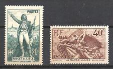 France 1936 Yvert n° 314 et 315 neuf ** 1er choix