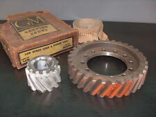 1939-1946 GMC Chevy Big Truck GM NOS Double Reduction Rear End Ring Pinion Gear