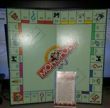 VINTAGE 1995 DELUXE EDITION MONOPOLY BOARD GAME BOARD INSTRUCTIONS