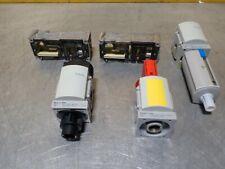 5Pcs Festo Pneumatic Lot. (2x)Vabv-S4-2S-G18-2T2, Ms6-Lfm-3/8-B-U0V