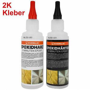 2 Komponenten Kleber Epoxidkleber 200g 5 Minuten Schnellkleber Epoxidharz
