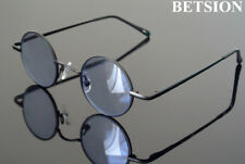 Vintage small Round Sunglasses Tinted Reading Glasses Spring Hinges Full Rim