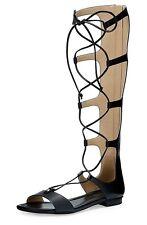 Michael Kors Sandalias / Zapatos Romanas Sofía Gladiador Cuero Gr.38 Nuevo