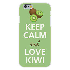 Keep Calm and Love Kiwi Fruit Tropical FITS iPhone 6 Snap On Case Cover New