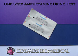 2x Drug Testing Strip for Amphetamine (Urine Test)