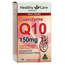 BEST PRICE PROMOTION Healthy Care HC CoEnzyme Q10 cQ10 150mg 100 Capsules