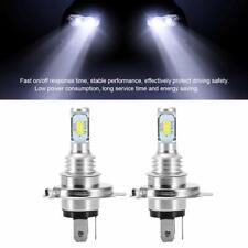 2PCS Car H4 9003 HB2 8000K Hi/Lo Beam 20 LED Headlight Bulbs Bulb White Lamp