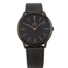 Calvin Klein Watch Minimal Man Woman Quartz 35 mm Black Dial K3M22421