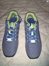 Adidas ZX Flux Weave entrenadores UK Size 9.5 Azul Verde AF6294