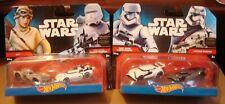 Mattel Hot Wheels 2014 Star Wars Vehicle two pack lot Mip Rey Phasma First order