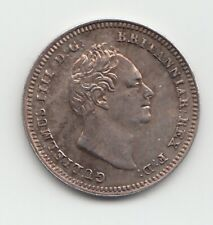 More details for 1837 silver threepence 3d william iv great britain.