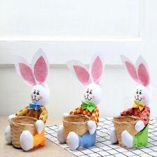 Handmade Basket Easter Egg Storage Holder Reusable Durable Case Home Decoration